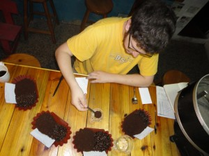 Cupping session